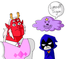 Lump Off Trigon by Jasperideon