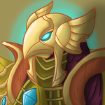 Azir (First artwork with my new Cintiq tablet!!!) by InkRose98