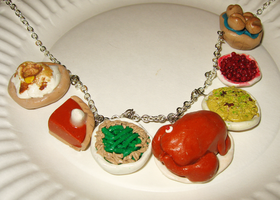 Thanksgiving Necklace - Whole by SarahRose