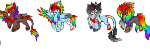 foals for xXcatdragon-adoptXx by korria1234