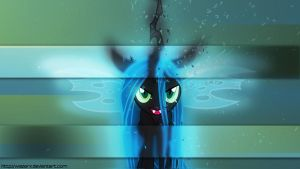 Queen Chrysalis Wallpaper by WazerX
