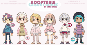 Adoptable: Casual Babes (CLOSED) by kanodraw