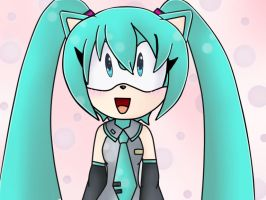 miku the hedgehog by YilaX