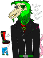 Rotten Rat Anthero Version by Dysfunctional-H0rr0r