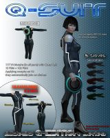Q Suit for V4 by Slide3D