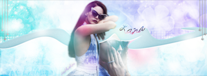 Lana Del Rey Facebook Cover by doubleshine