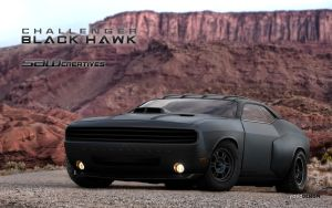 Challenger Black Hawk by yasiddesign