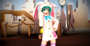 PDF2 DLC Rabbit Miku DL Now~ by cjpaoshen