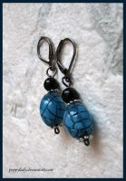 'Icicle' earrings by PoppyLady