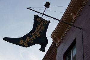 1876 Theater sign Deadwood, SD 08/23/13 7:26PM by Crigger