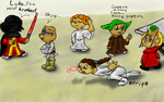 Request: Chipmunk Star Wars by Colliequest