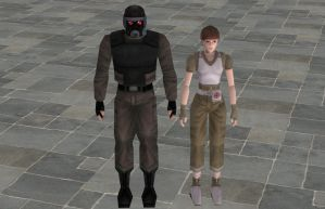 'Resident Evil' Old-school Pack 1 XPS ONLY!!! by lezisell