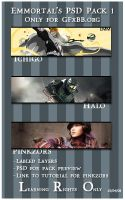 Emmortals PSD Pack 1 by GFXBB