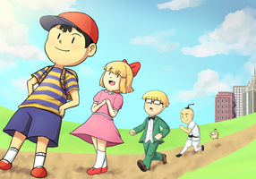 Earthbound by Gumwad201