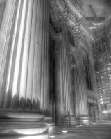 Mighty Pillars in Chicago by spudart