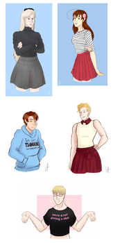 APH Outfit Requests by paarsetulpensart