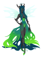 Queen Chrysalis by ArtistMeli