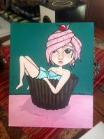 Cupcake girl by teenuhhh