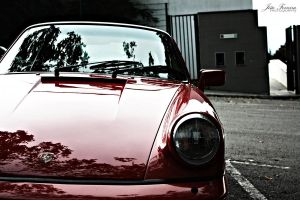 Red Porsche by JoaoPhotography