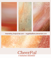 Cheerful textures by SugarFeathers