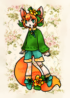 Forest Foxboy Adopt - CLOSED by kuroeko-adopts