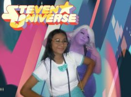 Amethyst and Connie - Steven Universe Cosplay by KonataIzumi14