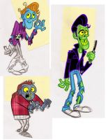 Zombies by JustinCoffee