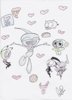 What GIR Loves by Gabpiano