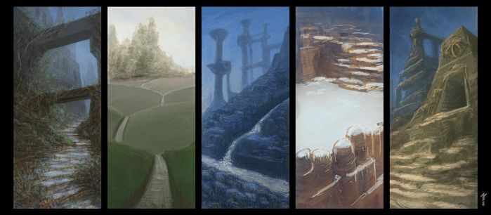 Landscape Thumbnails by digorydoo