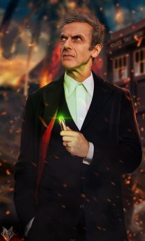 The 12th Doctor. by spidermonkey23