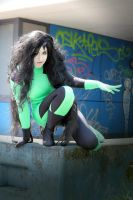 Shego from Kim Possible by akumanokeki