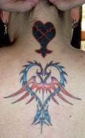 Kingdom Hearts goes Ink by jidane