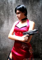 RE4: Ada Wong Cosplay II by Yukilefay