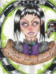 Lydia Deetz (sorry my scanner is too small) by Mars-Boogerstein