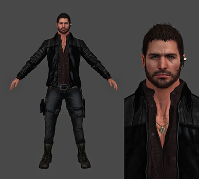 XPS - Resident Evil Vendetta Inspired Chris by FearEffectInferno