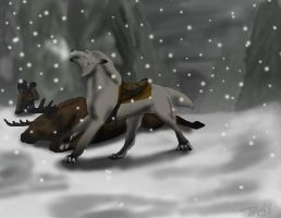 Jarle rite of the Hunt by spottedhorse567