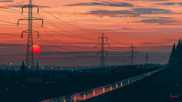Any Minute Now by Aenami