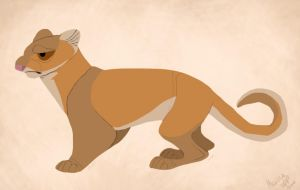 Jaguarundi - Second Try by sketchinthoughts