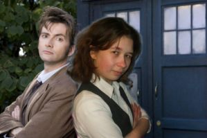 Doctor and Me as Sarah Jane Smith by Londonexpofan