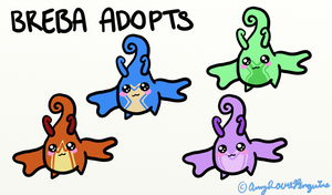 Breba Adopts (6 Points Each) ~ OPEN by AmyLovesPenguins