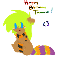 Happy Birthday Deven c': by batskies