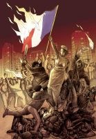 Riots in France by Otimag