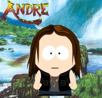 Andre Matos South Park by Hyurikken