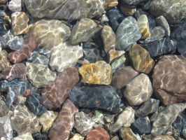 River rocks by PhyreLily