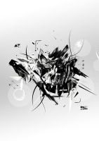 New abstract BW by ElBurito