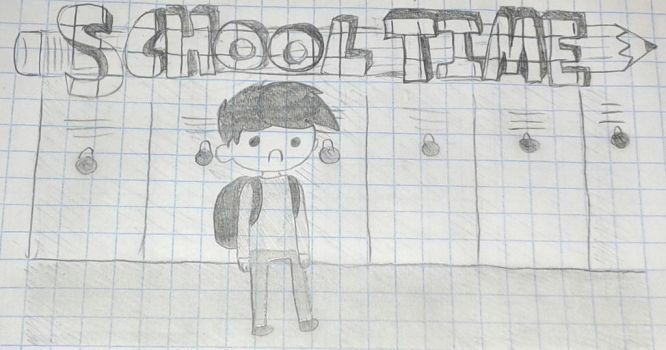 What time is it? School Time! by MrGelo97