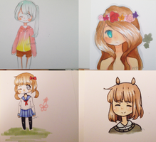 hahHAHHA COPIC DOODLIES by pppeeps