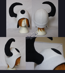 +FleeceHat:Sold+ Absol hat. by Stephys-Adoptables