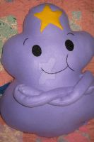 My Lumpy Space Princess Plush Pillow by CatsFeltLings