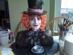 Mad Hatter Cake by ohnoono